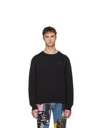 Acne Studios Acne S Black Fairview Face Sweatshirt