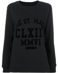 MM6 MAISON MARGIELA Appliqu Text Sweatshirt