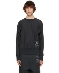 Maison Margiela Black 1con Sweatshirt