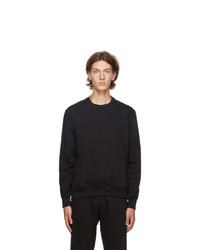 Ermenegildo Zegna Black Basic Chic Sweatshirt