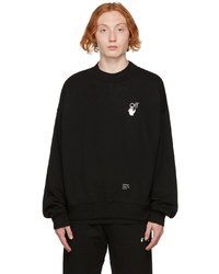 Off-White Black Caravaggio Arrows Skate Sweatshirt