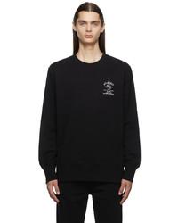 Givenchy Black Crest Sweatshirt
