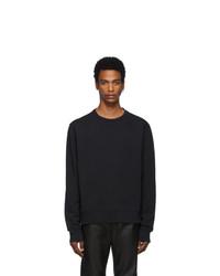 Maison Margiela Black Decortique Elbow Patch Sweatshirt