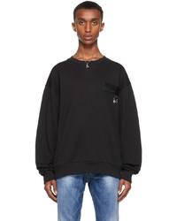 Dolce & Gabbana Black Dna Patch Sweatshirt