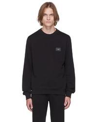 Dolce & Gabbana Black Essentials Logo Sweatshirt