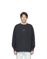 Acne Studios Black Finn Sweatshirt