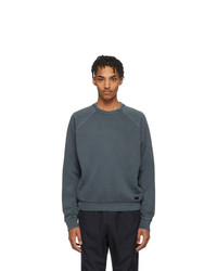 Z Zegna Black Gart Dyed Sweatshirt