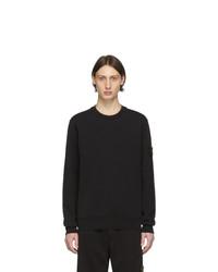 Stone Island Black Gart Dyed Sweatshirt