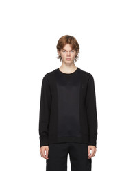 Alexander McQueen Black Hybrid Logo Sweatshirt