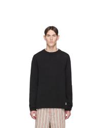 Jil Sanderand Black Knit Sweatshirt