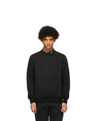 Salvatore Ferragamo Black Logo Sweatshirt