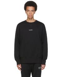 Valentino Black Logo Sweatshirt