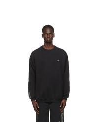 Vetements Black Logo Tape Sweatshirt