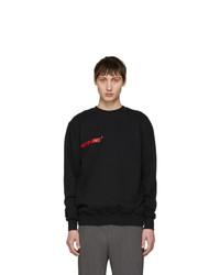 Polythene* Optics Black Logo Vertical Sweatshirt