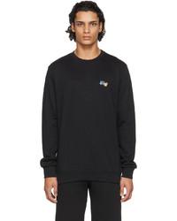 Paul Smith Black Paint Splatter Sweatshirt