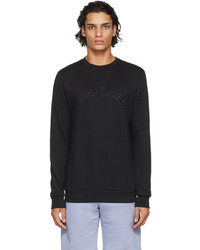 Paul Smith Black Rope Logo Sweatshirt