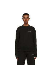 Off-White Black Slim Fit Logo Sweatshirt