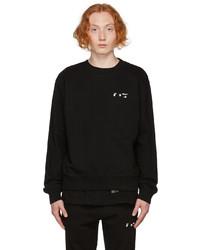 Off-White Black Slim Logo Sweatshirt