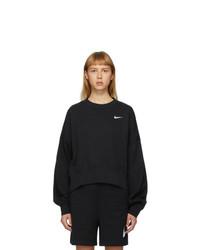 Nike Black Sportswear Essentials Sweatshirt