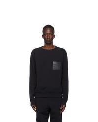 Maison Margiela Black Stereotype Crewneck Sweatshirt