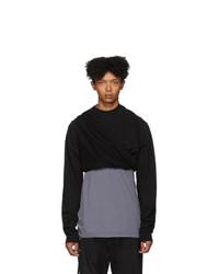 Rick Owens DRKSHDW Black Subhuman Sweatshirt