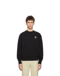 AMI Alexandre Mattiussi Black Sweatshirt