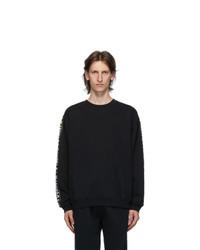 Vetements Black Tape Crewneck Sweatshirt