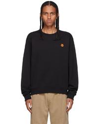Kenzo Black Tiger Crest Classic Sweatshirt