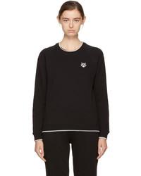 Kenzo Black Tiger Crest Sweatshirt
