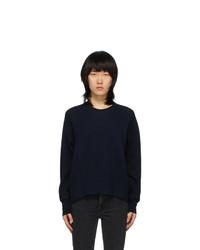 Sportmax Black Wool Edo Sweatshirt