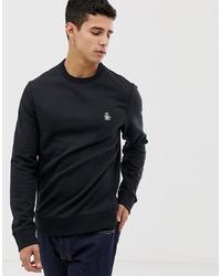 Original Penguin Icon Logo Sweatshirt In Black