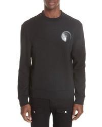 Versace Collection Logo Patch Sweatshirt