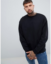 ASOS DESIGN Oversized Sweatshirt In Black