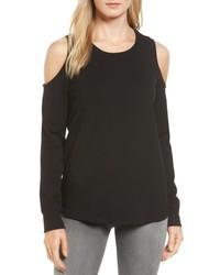 Petite cold shoulder sweatshirt medium 4950831