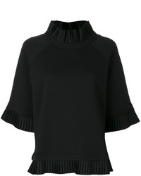 MM6 MAISON MARGIELA Pleated Detail Sweatshirt