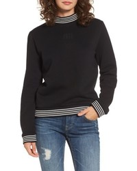Quinn mock neck sweatshirt medium 5264775