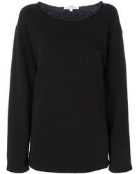 Helmut Lang Raw Edge Detail Sweatshirt