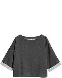 H&M Short Sleeved Sweatshirt