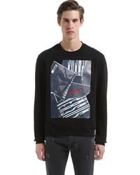 Versus Zayn X Cotton Jersey Sweatshirt