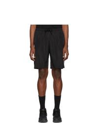 Marcelo Burlon County of Milan Black And Silver Muhammad Ali Edition Swim Shorts
