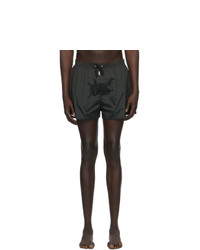 DSQUARED2 Black Back Logo Swim Shorts