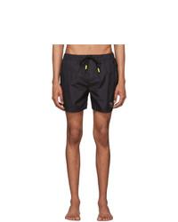 Diesel Black Bmbx Waver Swim Shorts