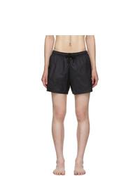 Marcelo Burlon County of Milan Black Cross Swim Shorts