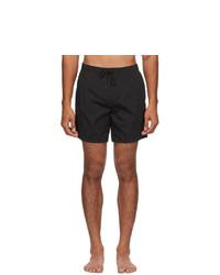 Fendi Black Forever Moisture Reactive Swim Shorts