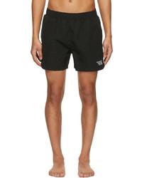Vetements Black Limited Edition Logo Swim Shorts