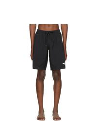 Moschino Black Logo Swim Shorts