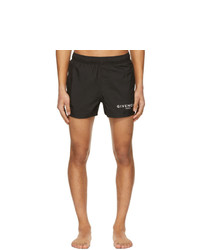 Givenchy Black Logo Swim Shorts