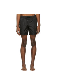 Moncler Black Mare Swim Shorts