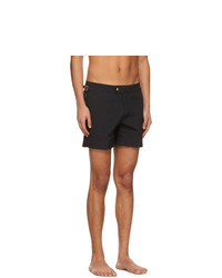 Tom Ford Black Nylon Swim Shorts