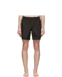 Gucci Black Nylon Swim Shorts
